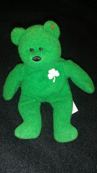 Cute ty bear (St. Patrick's)