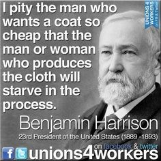 Benjamin Harrison (1833-1901) was the 23rd president of the United States. Harrison was born on August 20, 1833, in North Bend, Ohio. When he ran for the presidency against current president Grover Cleveland, Cleveland got more popular votes, but Harrison won the election since he received more electoral votes. Harrison's increased tariffs (taxes) on foreign goods and increased government spending caused him to lose the 1892 presidential election to Grover Cleveland.