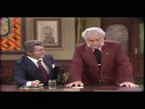 Funny airline pilot - Foster Brooks (May 11, 1912 – December 20, 2001), Dean Martin (June 7, 1917 - Dec 25, 1995)