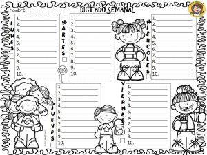 Cálculo mental, dictado semanal y registro de lectura diaria | Educación Primaria
