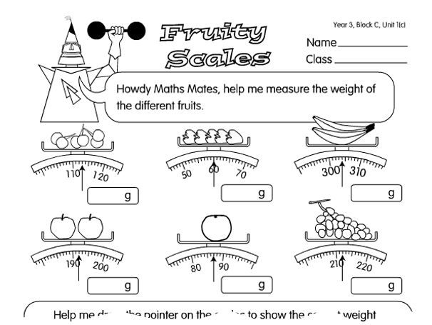 Reading Scales Year 3 Google Search Peso Reading a scale worksheet