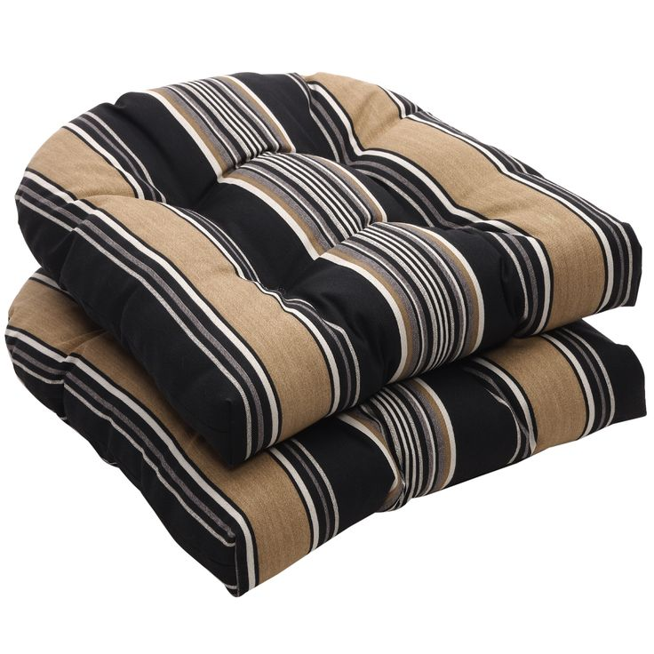 Park Art My WordPress Blog_Black And White Striped Chair Cushions Outdoor