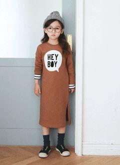 HEY BOYロングワンピース#kids dailylook #アイラブジェイ #キッズファッション #kid #子供服 #子供ファッション #韓国子供服 #ilovej #winter http://www.ilovej.co.jp/ http://www.ilovej.co.jp/smartphone/