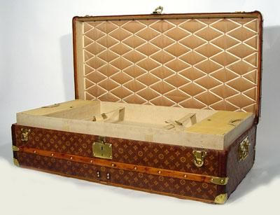 louis vuitton antique trunks | Popieces: Louis Vuitton Vintage Travel Trunks 1889-1930