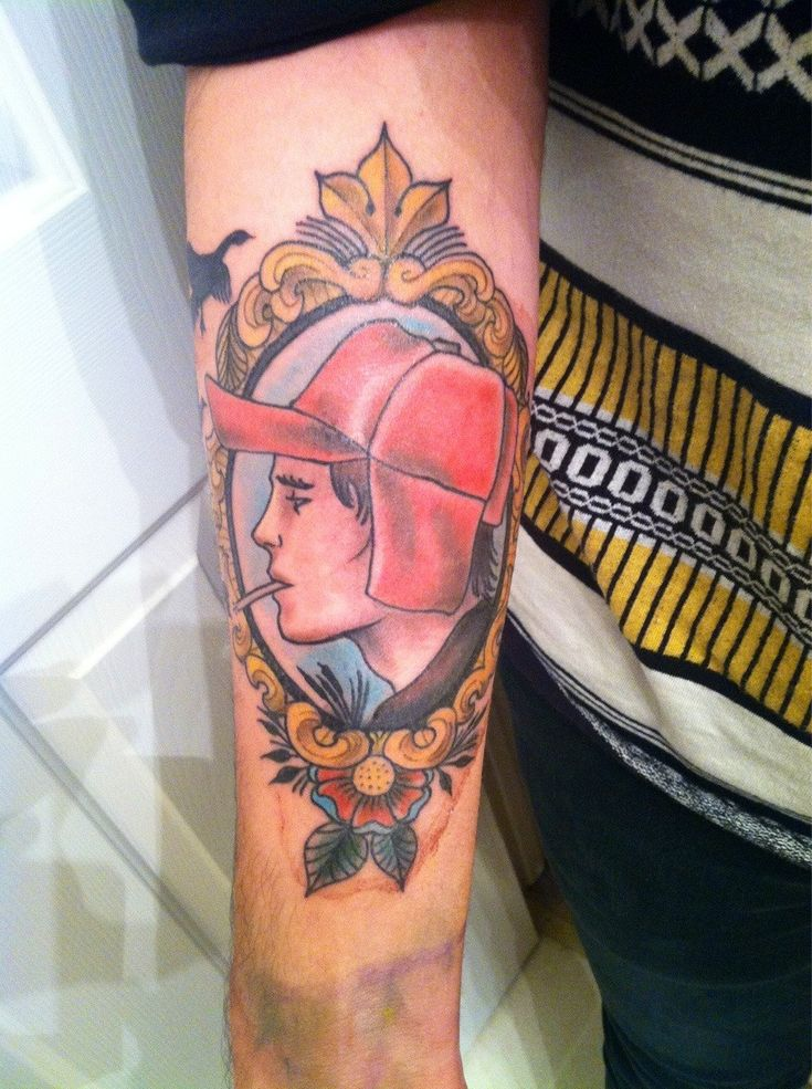 Rye, Catcher and Tattoos and body art on Pinterest
