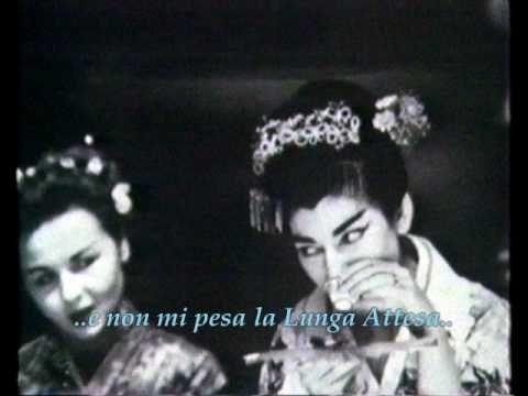 Madama Butterfly: Un bel dì vedremo, Puccini // Soprano: Maria Callas, 1954