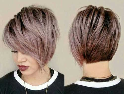Pixie Cuts Are So Able Nowadays And Continued Brownie Pixies With Bangs Accepting Added Por Actuality The Pi