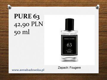 Perfumy PURE 63 męskie fougere
