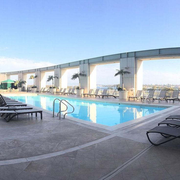 The weekend forecast calls for perfect weather at Grand Hyatt San Diego.