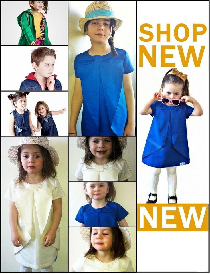 Ekologiska barnkläder - Blå Tomat