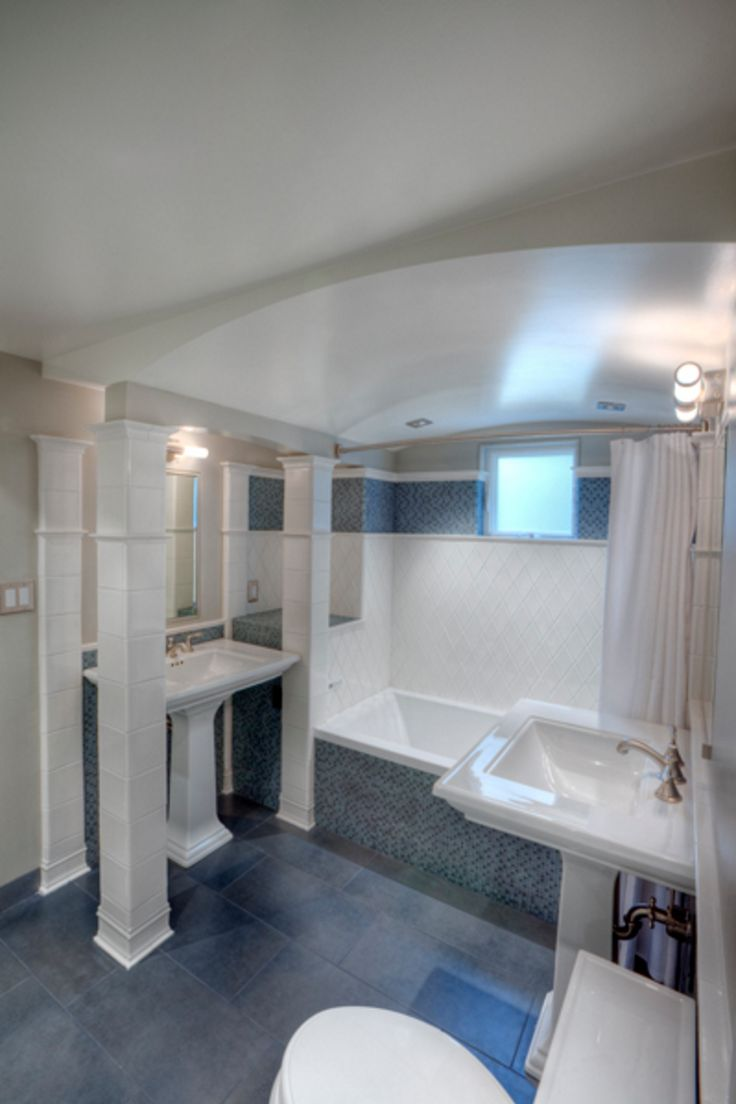 Beautiful Architectural Bathroom Designed With One Of Our Drop In Bathtubs,  The Meridian.