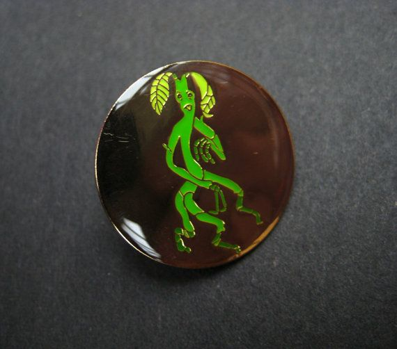 Pickett! Youre better than that.  You can now carry around your own cheeky Bowtruckle friend in your pocket just like Newt! This enamel pin features Pickett, a creature seemingly made out of twigs, leaves and bark, pulling rude faces in gold effect metal (hard to show in a preorder image but itll look shiny and lovely when its made! Check out my Pangolin pin to best see how the effect works)    To celebrate the new five (five!!) Harry Potter films incoming based off of the wonderful…