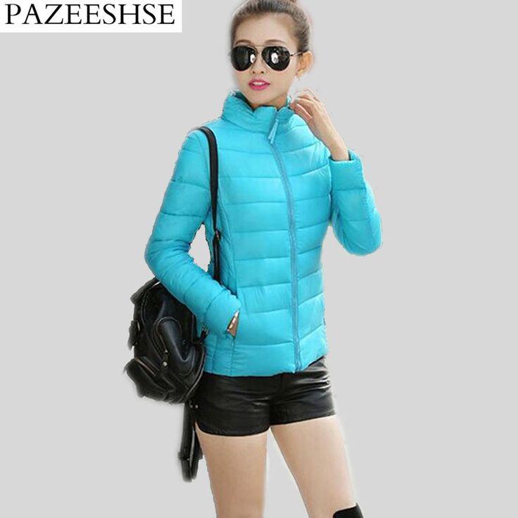 $45.36 (Buy here: https://alitems.com/g/1e8d114494ebda23ff8b16525dc3e8/?i=5&ulp=https%3A%2F%2Fwww.aliexpress.com%2Fitem%2F2016-New-Arrival-Short-Winter-Coats-Solid-Women-Down-Jacket-Slim-Female-Jacket-Warm-Coat-Fashion%2F32722707468.html ) PAZEESHSE Coat Short Women's Winter Jacket Solid Down Jacket Slim Female Coat Warm Joker Jacket Women Fashion Stand Collar Parka for just $45.36