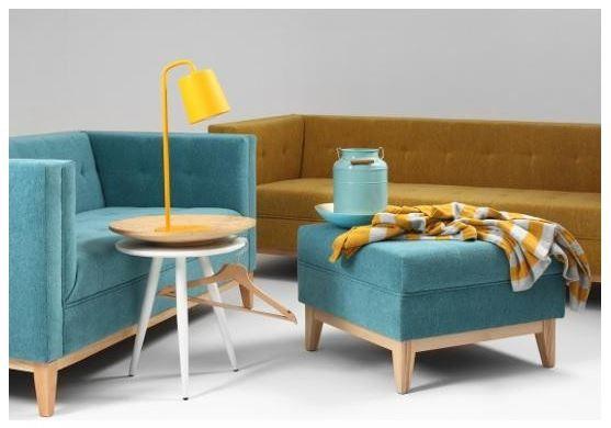 Customform: niebiańska sofa