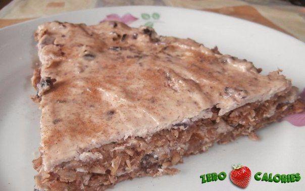 Диетический торт с творогом на 100грамм - 128.52 ккал, Б/Ж/У - 10.98/2.18/17.04