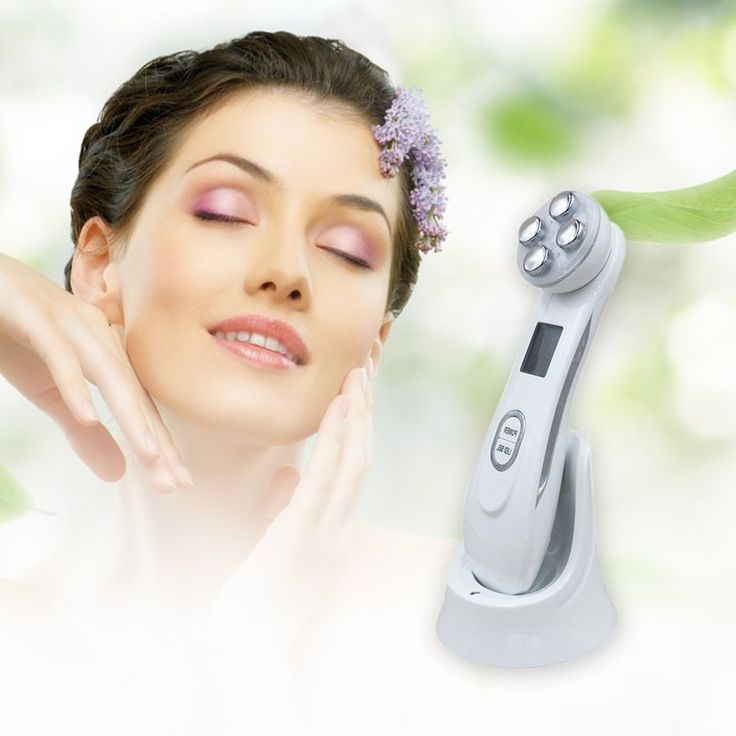27.99$  Buy now - http://aliqhk.shopchina.info/go.php?t=32807886783 - Face Skin EMS Mesotherapy Electroporation RF Radio Frequency Facial LED Photon Skin Care Device Face Lift Tighten Beauty Machine 27.99$ #magazineonline