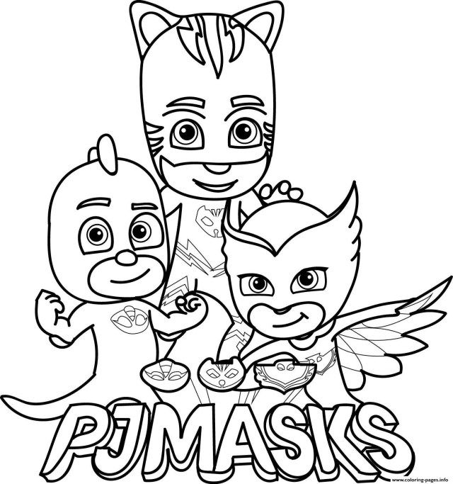 Inspired Image of Owlette Coloring Page | Pj masks ...
