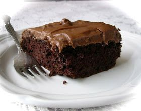 Our Recipes: Chocolate Zucchini Cake