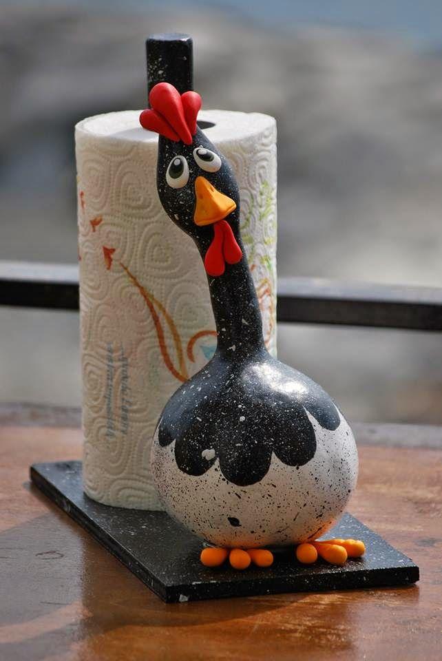Galletto portascottex... Gourd
