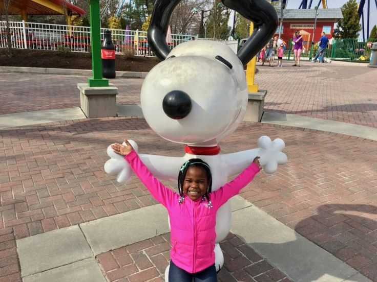 Raising a Family of Thrill Seekers. Taking on Kings Dominion with Kids. Planet Snoopy, Family Adventures.