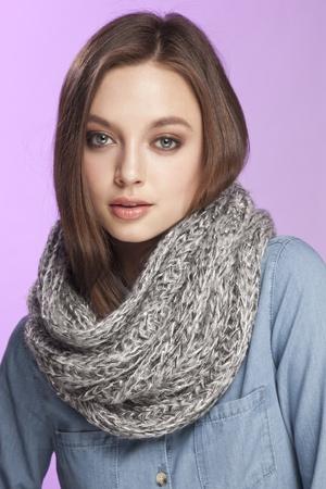circle scarf !!