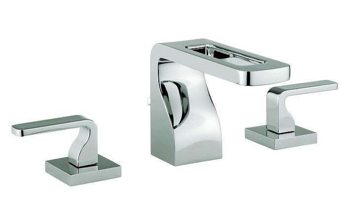 KH Zero 1 Basin 3 Hole Bathroom Tap Set from Kelly Hoppen at Crosswater http://www.crosswater.co.uk/product/kelly-hoppen-mbe-bathroom-collection/basin-3-hole-set-kh01-135dnc/