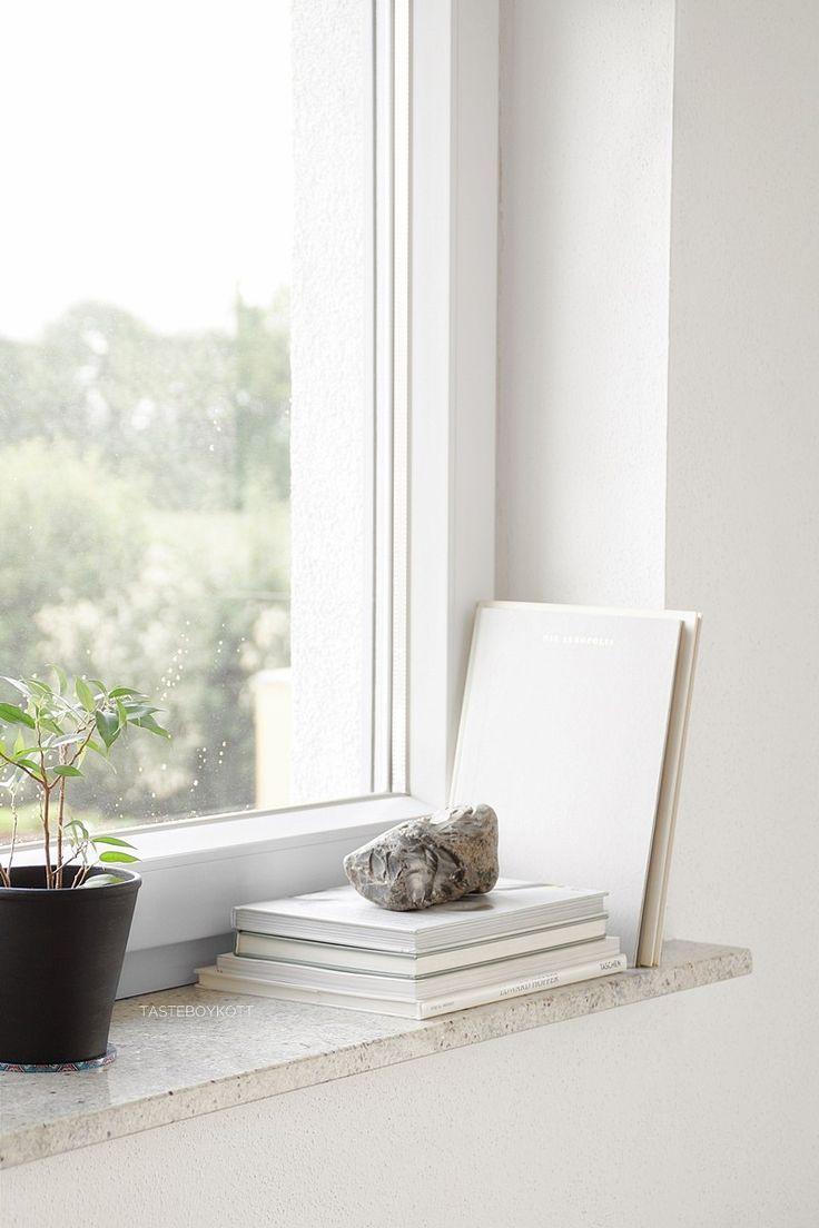 Schneller Dekotipp Ein Stein Als Skulptur Fensterbank Innen