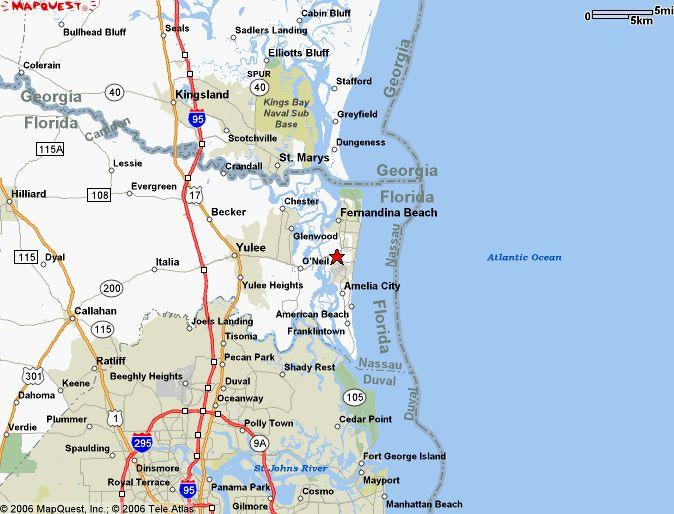 Amelia Island Fl Maps ameliaisland