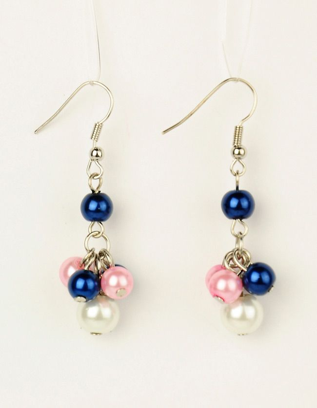 PandaHall Jewelry—Glass Pearl Earrings with Brass Earring Hooks | PandaHall Beads Jewelry Blog