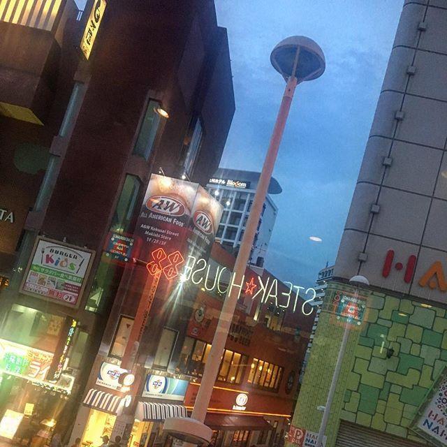 ・ すんごくすんごく 楽しみにしてたよねステーキ( ◠‿◠ ) ・ ・ ・ #修学旅行 #沖縄 #国際通り #ステーキハウス88 #肉 #🍖