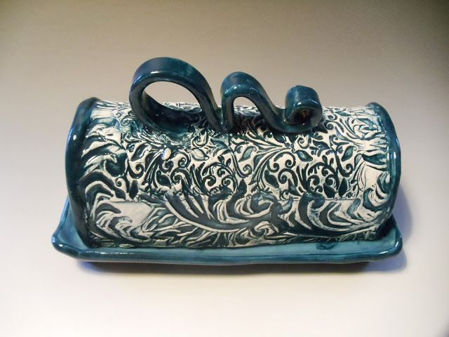 Butter dish by Wendy Goldsmith.