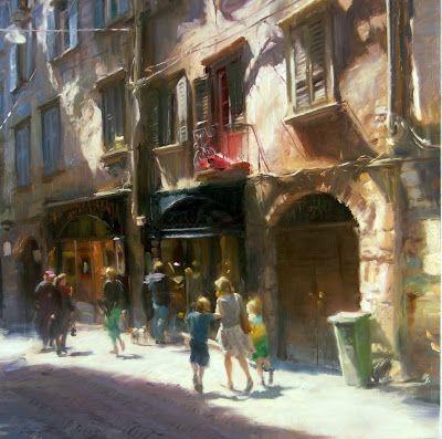 Simon Pasini (oil on canvas)