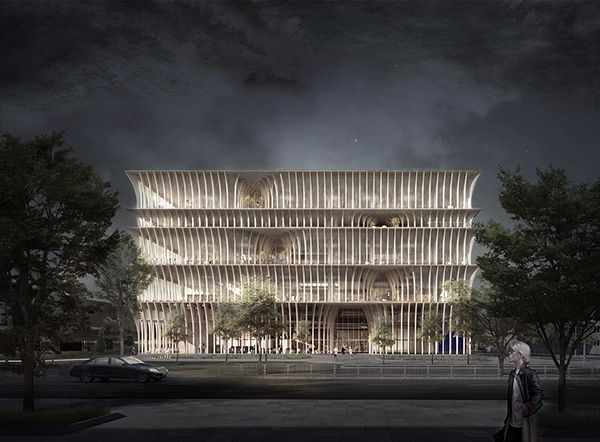 Design For The New Varna Library Wants To Be The City's Living Room - eVolo | Architecture Magazine
