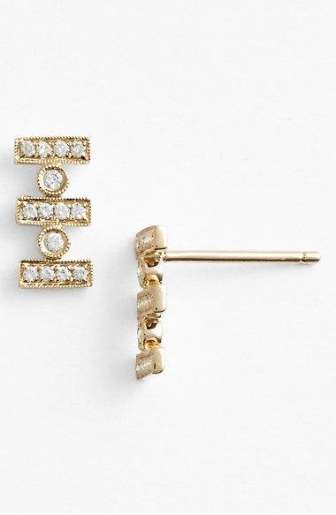 Dana Rebecca Designs Reese Diamond Stud Earrings Available At Nordstrom