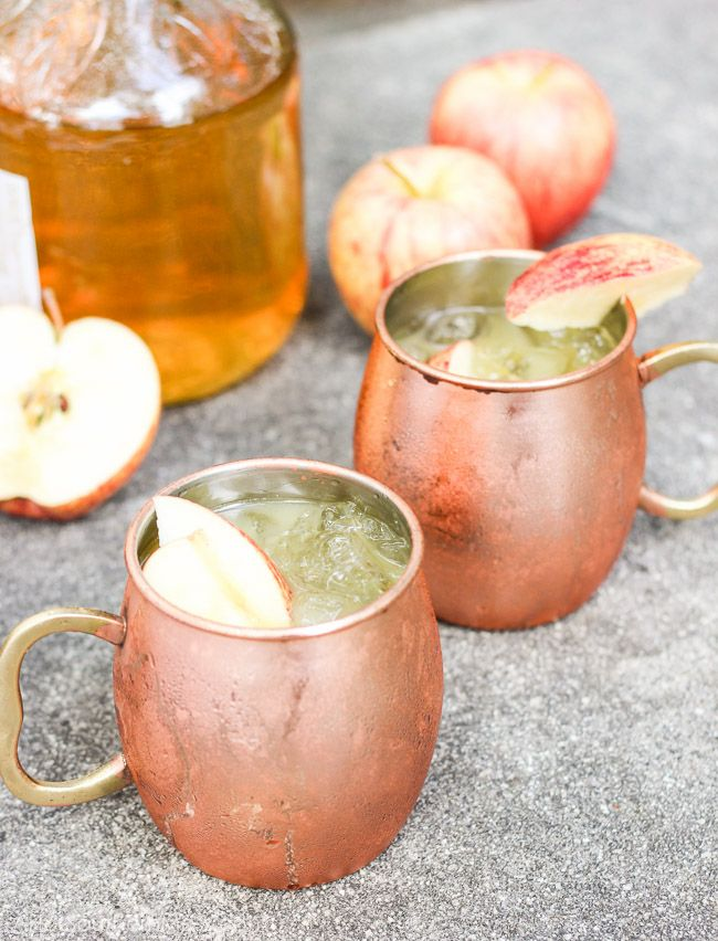 Bourbon Cider Sour by Bless Her Heart Yall