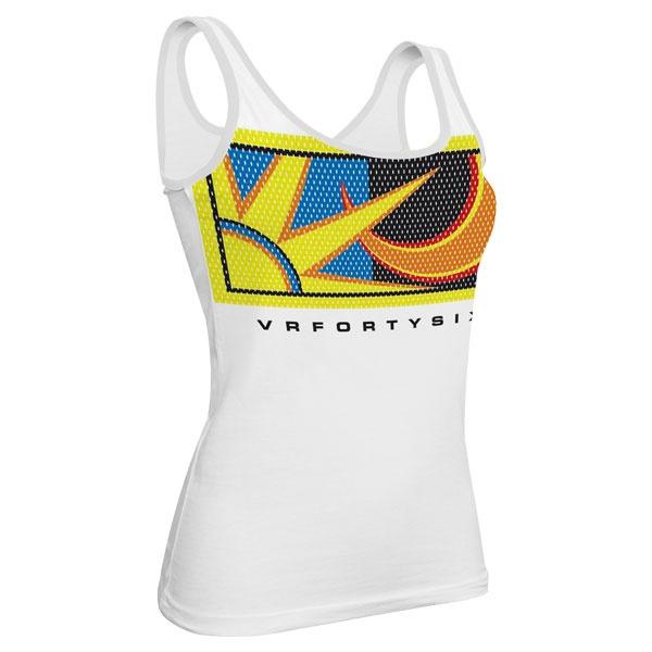 Valentino Rossi 2013 ladies tank top white