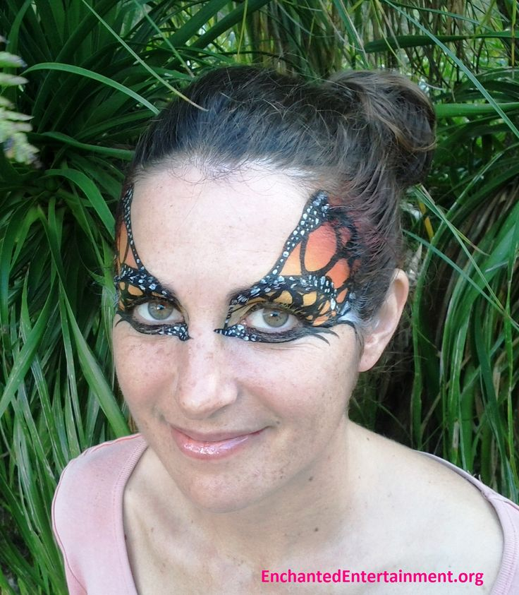 Butterfly Eyes! Face painting by EnchantedEntertainment.org  Character Parties, Face Painting & Entertainment for Children  Northern NSW & Gold Coast, Australia http://www.enchantedentertainment.info/