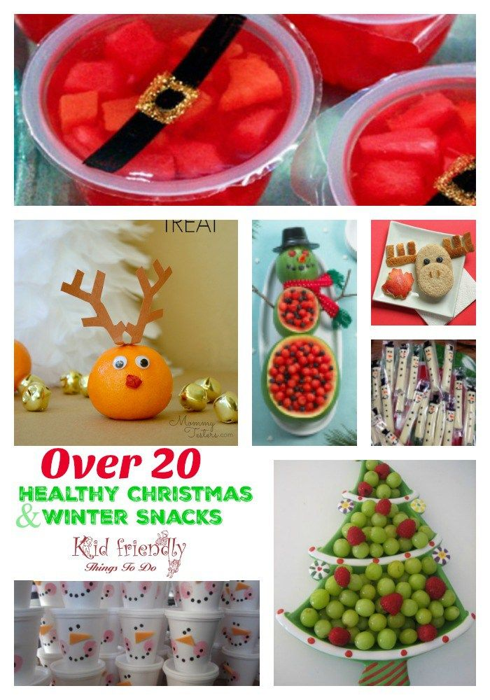 Christmas Party Fruit Ideas Part - 25: Fruit U0026 More - Over 20 Non-Candy Healthy Kidu0027s Christmas Party Snacks |  Healthy Fruits, School Classroom And Snacks