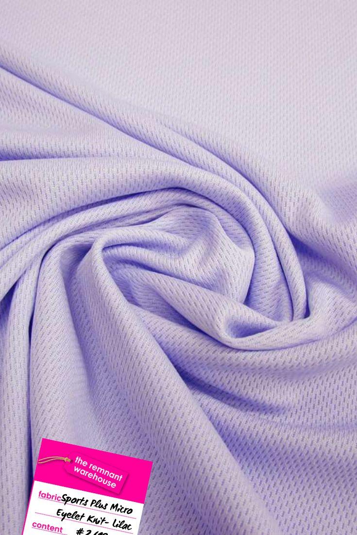 Sports Plus Micro Eyelet Knit- Lilac #2619