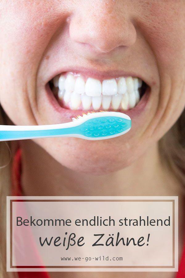 Helle deine Zähne natürlich auf   Zähne aufhellen