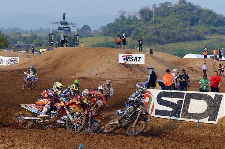 Thailand MXGP 2013 - MX1 start