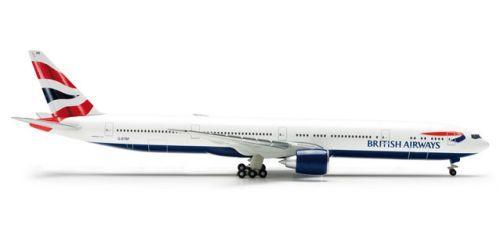 Herpa Wings 1/500 Scale  Boeing 777-300ER British Airways  Registration No. G-STBF
