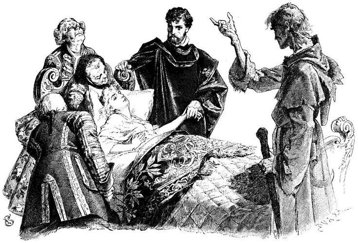 Иллюстрации к книге братья Гримм Сказки Гротт