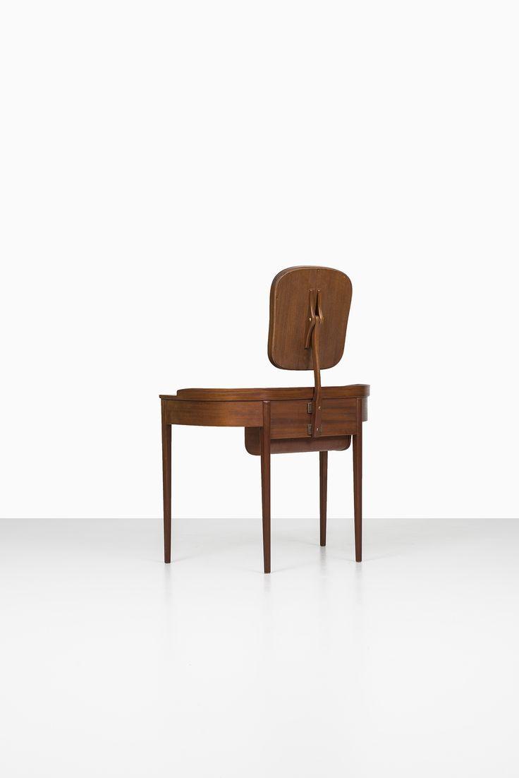 Carl Malmsten vanity Birgitta in mahogany at Studio Schalling