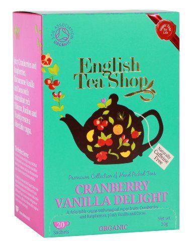 English Tea Shop Organic Cranberry Vanilla Delight Super Teas (Pack of 3, Total 60 Tea Bags) English Tea Shop http://www.amazon.co.uk/dp/B00ED003SC/ref=cm_sw_r_pi_dp_1.pmub15P73HG
