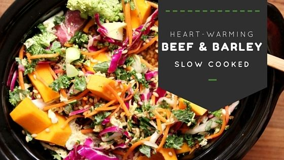 Heart warming slow cooker Beef and Barley http://www.planeatplay.com/heart-warming-slow-cooker-beef-barley/?utm_campaign=coschedule&utm_source=pinterest&utm_medium=Plan%20Eat%20Play&utm_content=Heart%20warming%20slow%20cooker%20Beef%20and%20Barley Oh my word, the house will smell amazing when you have this baby simmering the day away.