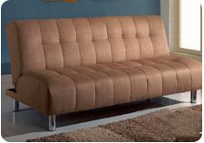 Futons for Sale, Convertible, and Klik Klak some with Storage; in Micro Fiber, Suede and Fabric, at Affordable Discount Outlet Sale Best Prices.