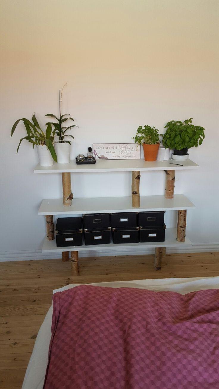 Reol, DIY, birketræ