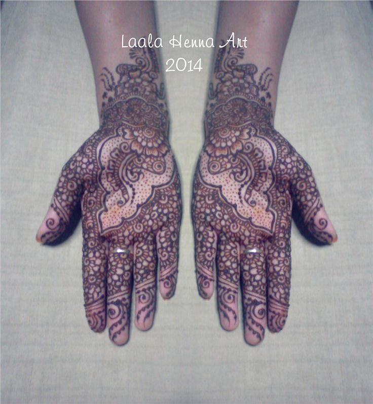 palm henna design for wedding #laalahennaart