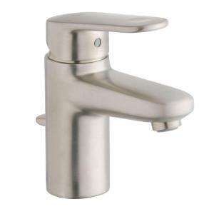 GROHE Europlus Single Hole 1-Handle Low Arc Bathroom Faucet in Brushed Nickel (Valve Not Included)-33170EN2 at The Home Depot